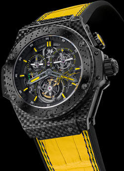часы Hublot King Power Ayrton Senna Tourbillon
