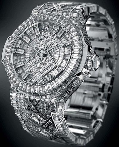 Часы hublot 5 million dollar big bang ref 306 wx 0099 wx 9904