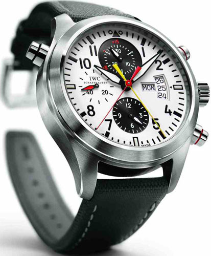 часы Pilot's Watch Double Chronograph Edition DFB (Ref. IW3718)