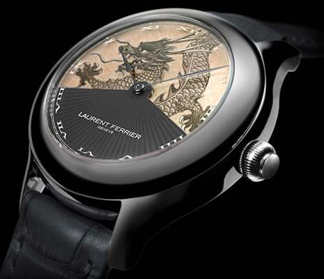 часы Laurent Ferrier Galet Secret Dragon Deco Edition