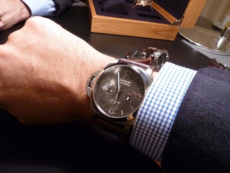 Luminor 1950 Destro 8 Days Chronograph PAM 345