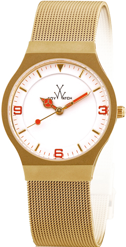 часы ToyWatch Mesh Gold