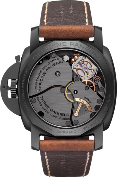 ������ ������� ����� Luminor 1950 Tourbillon GMT Ceramica (Ref: PAM00396)