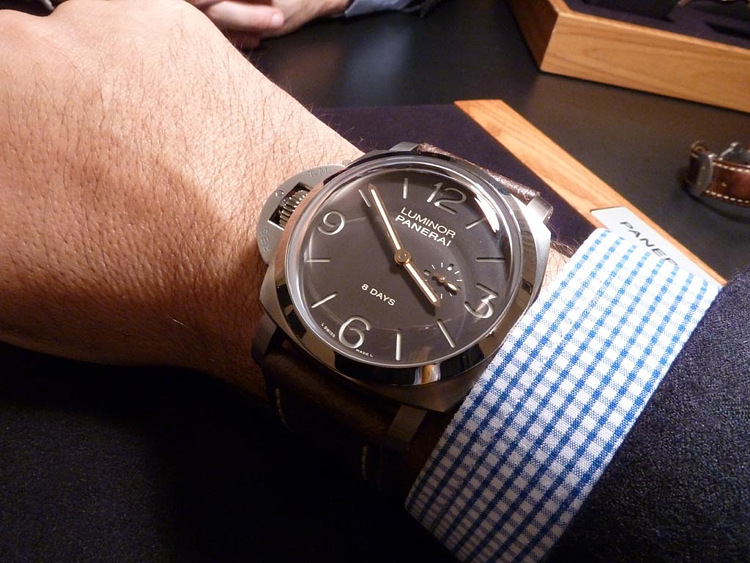Luminor 1950 Destro 8 Days Titanio Special Edition PAM 368