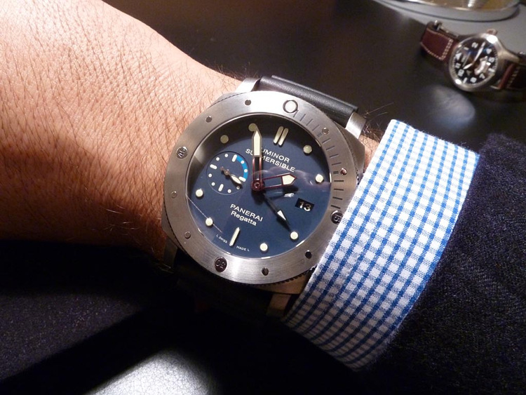 Luminor Submersible 1950 Regatta 3 Days GMT PAM 371