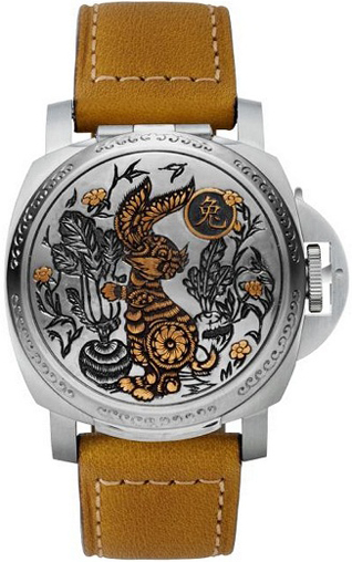 мужские часы Panerai Luminor Sealand Chinese Rabbit Year