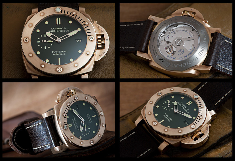 Panerai Luminor 1950 3 Days Bronze PAM 382