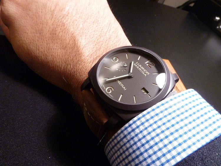 Часы Panerai Luminor Composite PAM 386