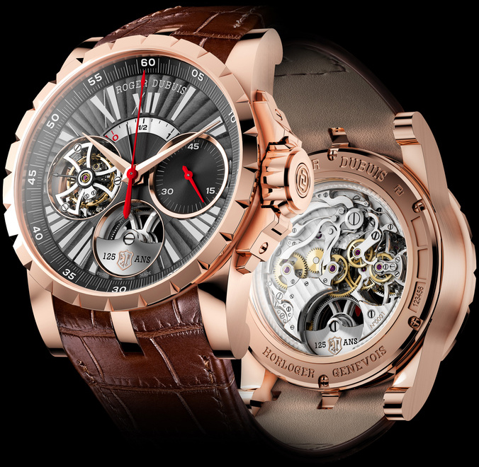 часы Excalibur Flying Tourbillon Chronograph