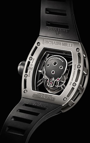 ������ ������� ����� Richard Mille Tourbillon RM 052 Skull
