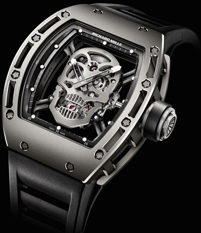 часы Richard Mille Tourbillon RM 052 Skull