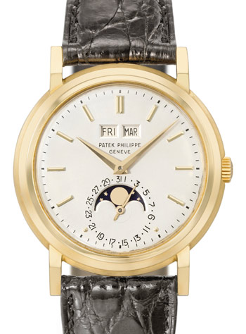 Lot 252, Patek Philippe Reference 3449