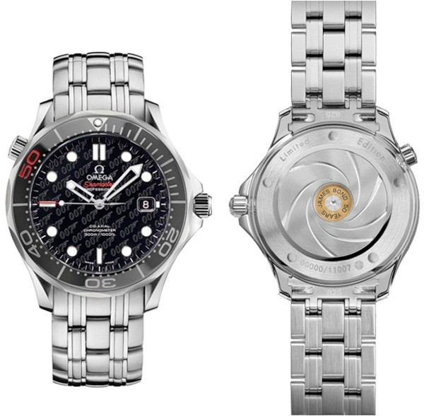 часы Seamaster Limited Edition James Bond 50th Anniversary