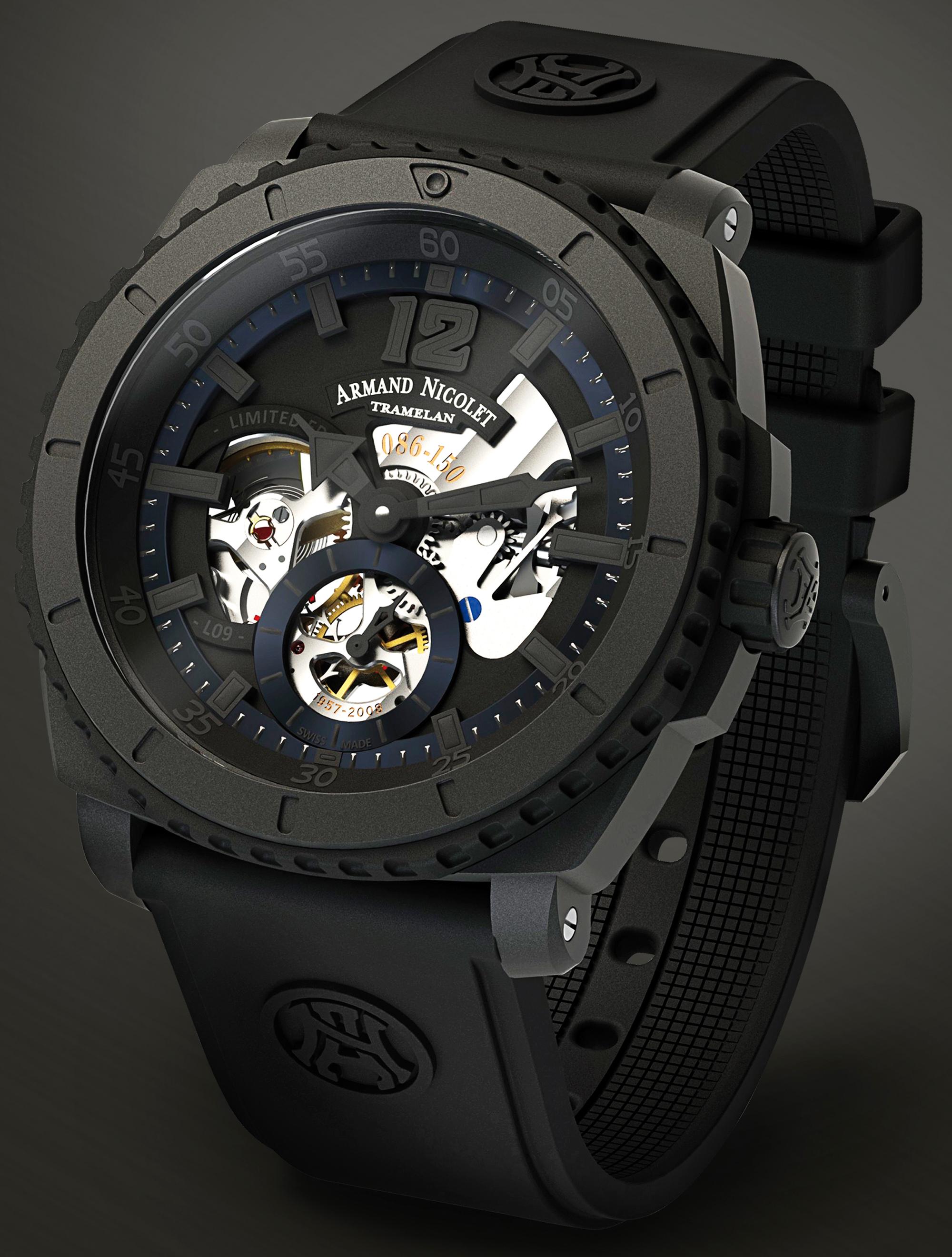 Коллекция спортивных часов L09 от Armand Nicolet на BaselWorld 2012