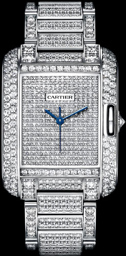 часы Cartier Tank Anglaise Medium Model