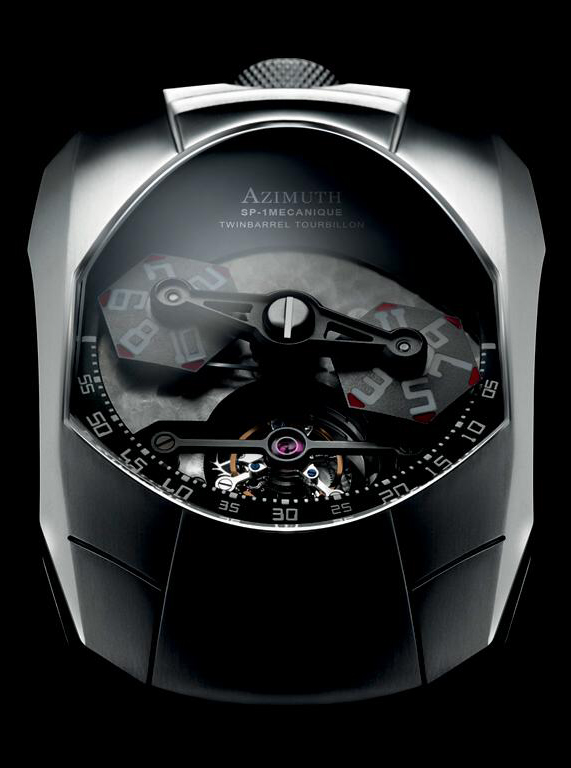 часы Twin Barrel Tourbillon
