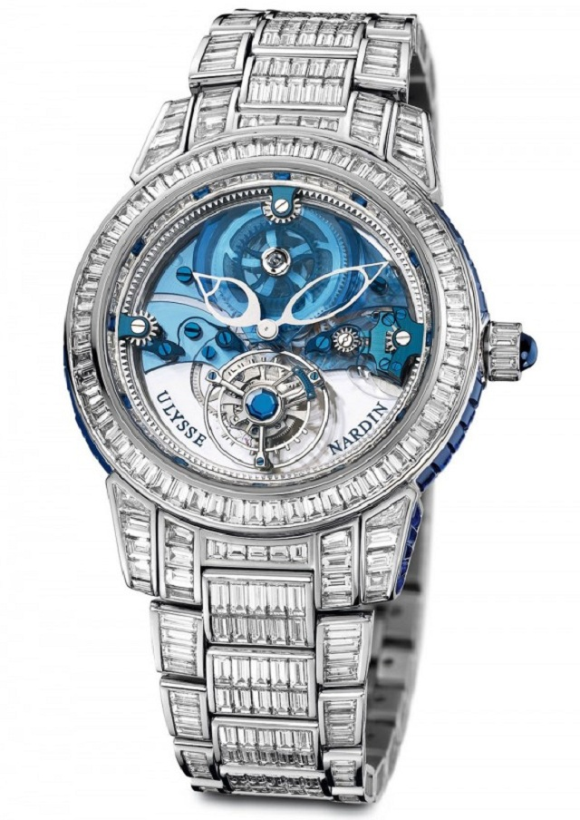 часы Royal Blue Tourbillion Haute Joaillerie от Ulysse Nardin