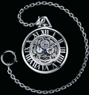 часы Cartier Grand Complication Pocket Watch