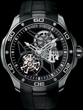 часы Roger Dubuis Pulsion Skeleton Flying Tourbillon