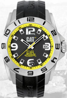 часы CAT Yellow Steel Evotwist