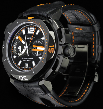 часы Hydroscaph Limited Edition Central Chronograph