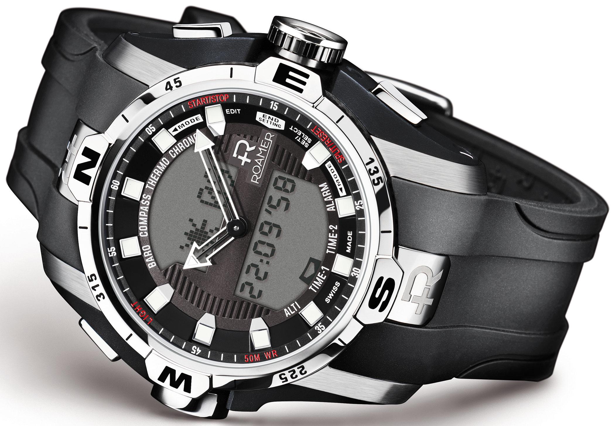 часы наручные спортивные водонепроницаемые мужские