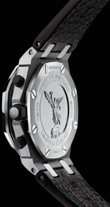 задняя сторона часов Audemars Piguet Royal Oak Offshore Pride of Mexico
