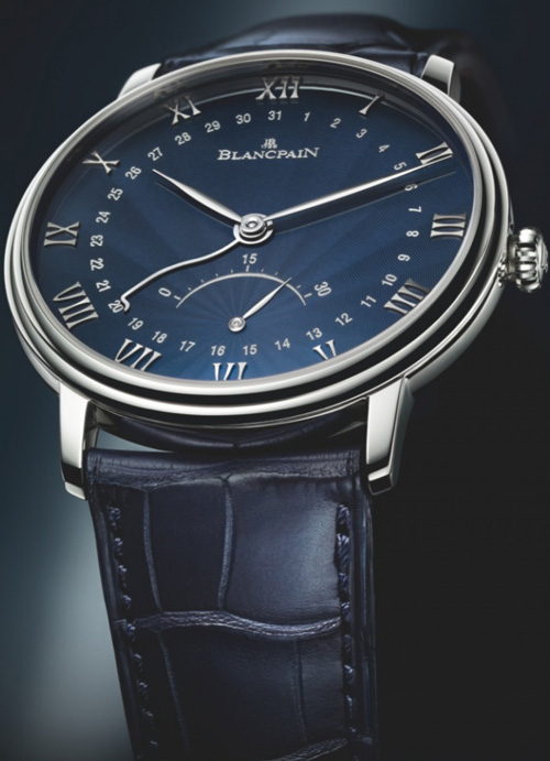 часы Villeret Retrograde Seconds от Blancpain