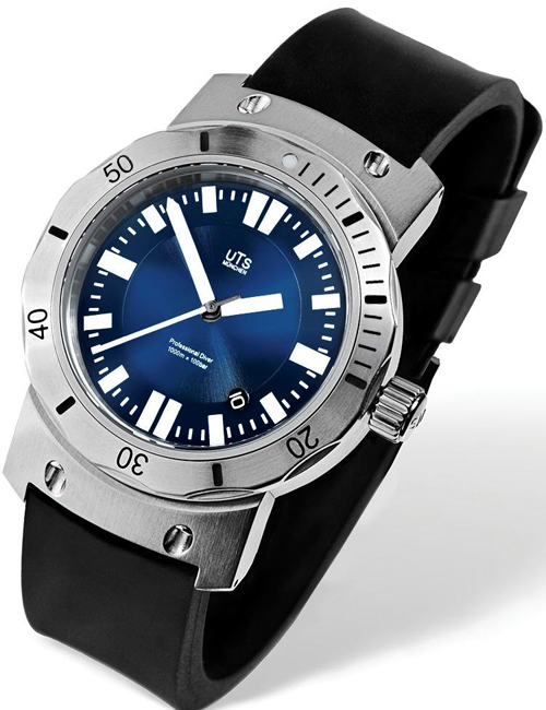 супер-дайвер Pacific Horizon Blue Dial компании UTS