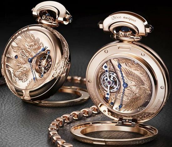 "часы Bovet 7-Days Tourbillon Reversed Hand-Fitting ""Dragon & Phoenix"""