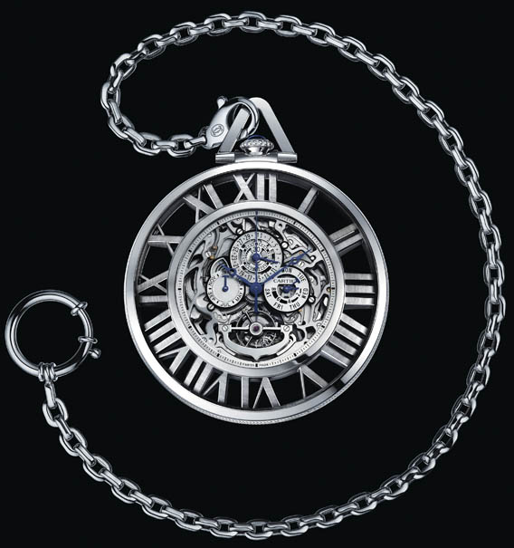часы Cartier Grand Complication Skeleton для SIHH 2012