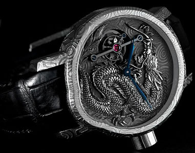 часы Cornelius & Cie Tourbillon Dragon