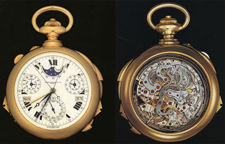 часы Henry Graves Supercomplication 1933