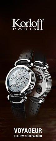 Французский производитель роскоши korloff, занимающийся выпуском часов, ювелирной продукции и аксессуаров