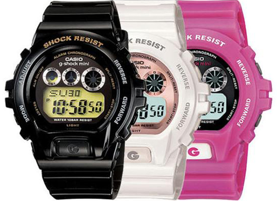 линия Casio G-Shock Mini 9600