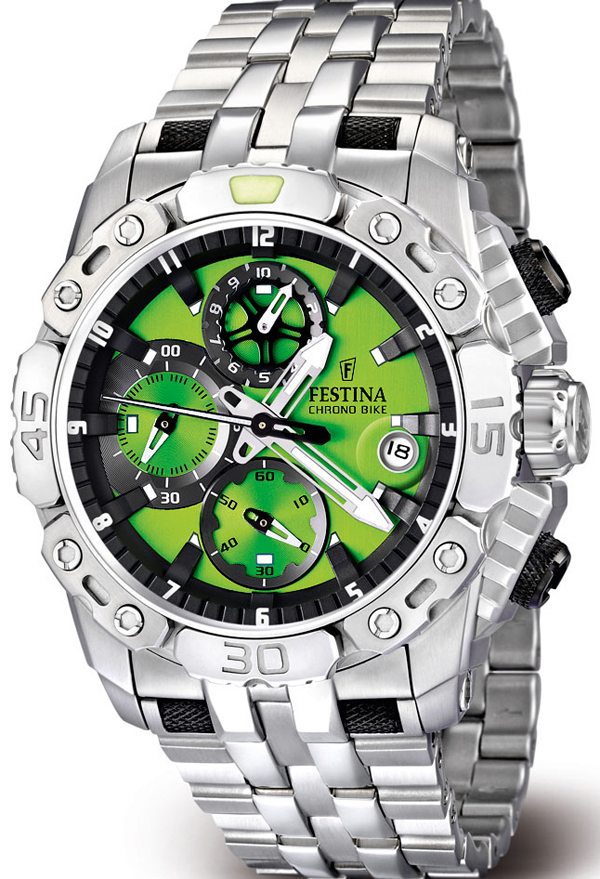 часы Men's Tour de France Chrono Bike 2011 от Festina