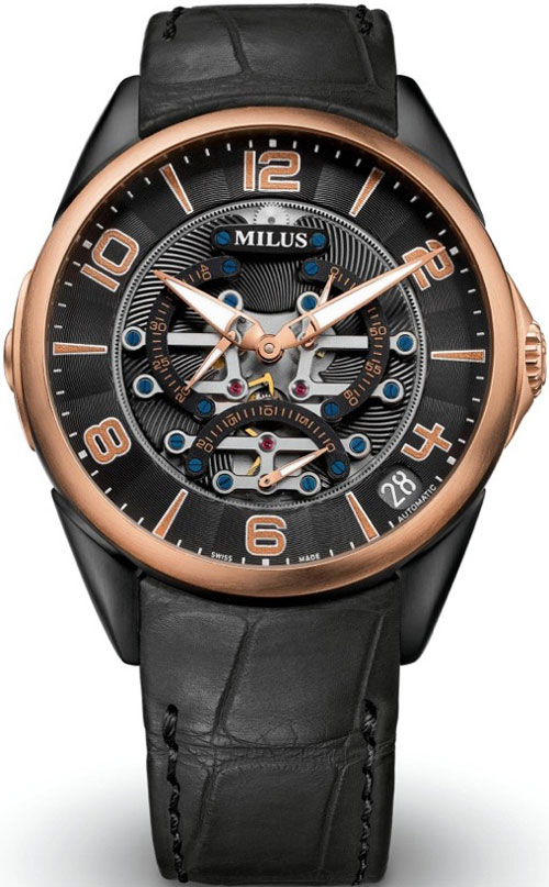 новый Tirion TriRetrograde Seconds (Ref. TIRI741) от Milus