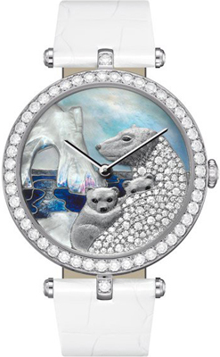 женские часы Lady Arpels Polar landscape White Bear Decor