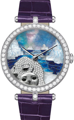 женские часы Lady Arpels Polar landscape Seal Decor