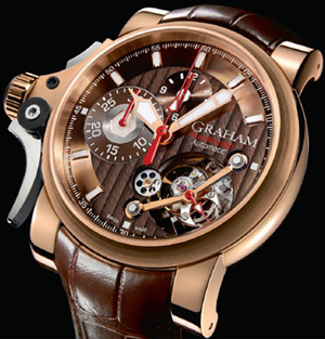 часы Chronofighter Trigger Tourbillograph Havana