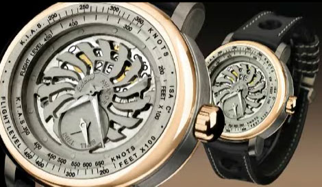 часы Aviator Dual Time