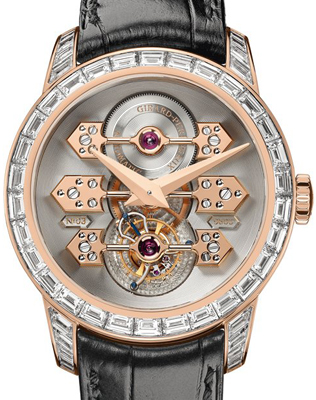 часы Tourbillon with Three Gold Bridges Diamond-Set (Ref. 99193B52H001-BA6A)