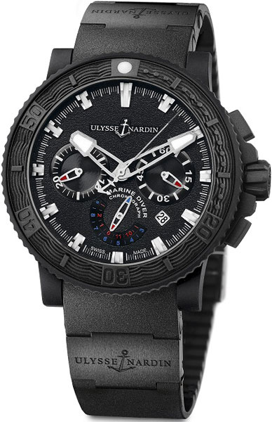 часы  Black Sea Chronograph от Ulysse Nardin