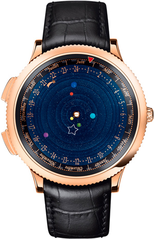 Часы Midnight Planétarium Poetic Complication от Van Cleef and Arpels