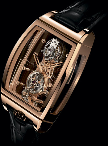 часы Golden Bridge Tourbillon Panoramique (Ref. 100.160.55/0F01 0000)