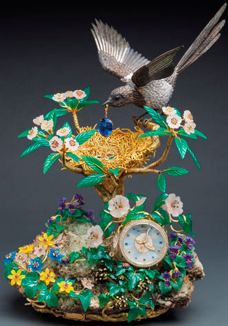 ���� Patek Philippe Magpie's Treasure Nest Clock («������ ������»)