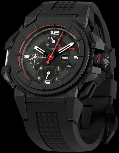часы Snyper One - Steel - Black PVD