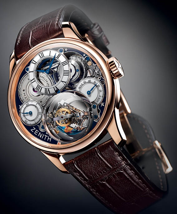 Christophe Colombe Hurricane Grand Voyage от Zenith