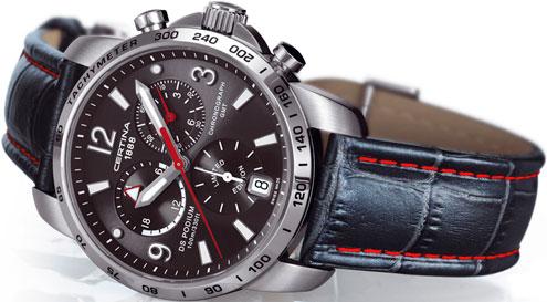 часы DS PODIUM GMT LIMITED EDITION SAUBER F1 от Certina