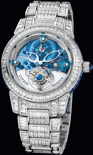 Royal Blue Tourbillon Haute Joaillerie (Ref. 799-99BAG-8BAG)